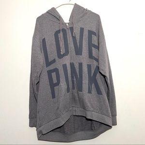 Victoria's Secret Pink Oversized Full ZIP Hoodie